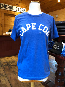 Cape Cod Collegiate - Blue Tee (unisex)