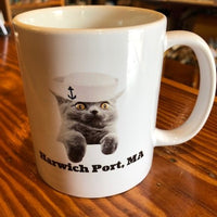 Harwich Port Cat Mug