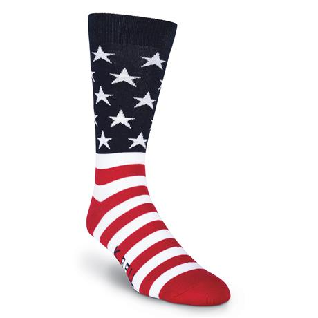 American Flag Men's Crew Socks