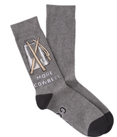 """More Cowbell"" Men's Socks"
