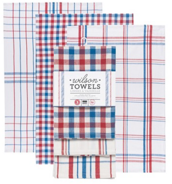 Wilson Dish Towels (Set of 3)