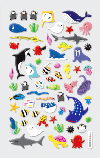 Marine Friends Stickers