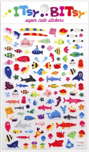 A Little Sea Life Stickers