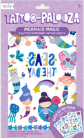 Mermaid Magic Temporary Tattoo-Palooza