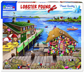 """Lobster Pound"" Jigsaw Puzzle (1000 piece)"