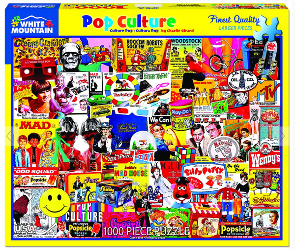 """Pop Culture""  Jigsaw Puzzle (1000 piece)"