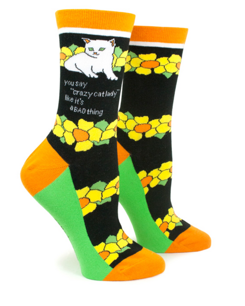 Crazy Cat Lady - Socks