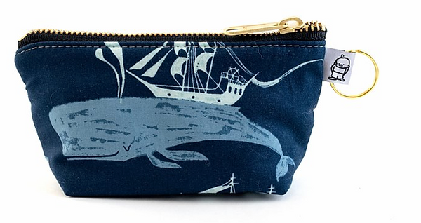 """Moby Dick"" Change Purse"