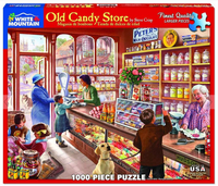 Old Candy Store Jigsaw Puzzle (1000 pieces)