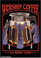 """Worship Coffee"" Magnet"