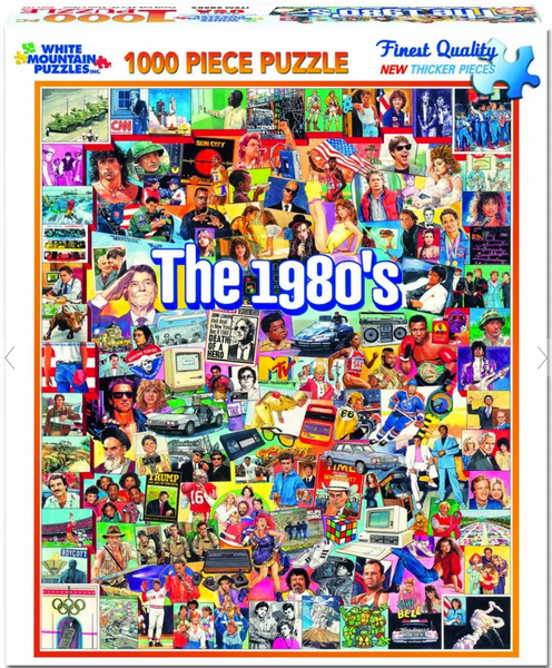 """The Eighties"" Jigsaw Puzzle (1000 piece)"