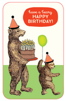 Have a Beary Happy Birthday! - Card