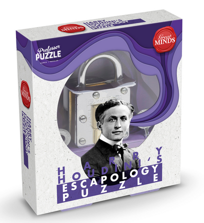 Harry Houdini Escapology Lock Puzzle