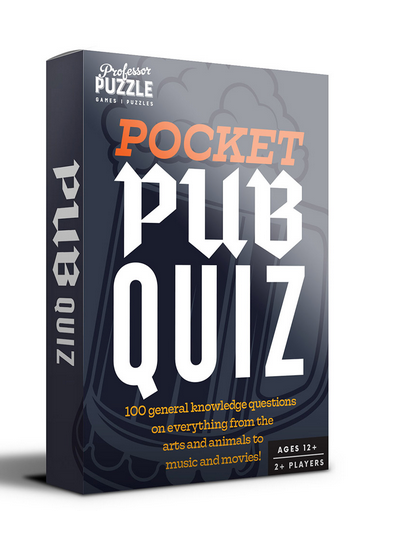 Pocket Pub Trivia Cards
