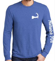 Long Sleeve Adult Cape Cod - True Royal Tee (unisex)