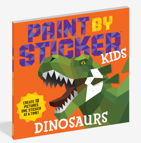 Dinosaurs - Paint By Sticker Kids Book