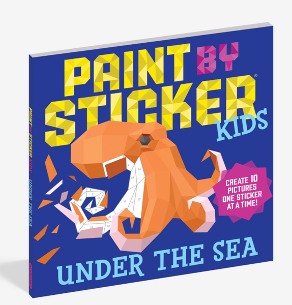 Under the Sea - Paint By Sticker Kids Book