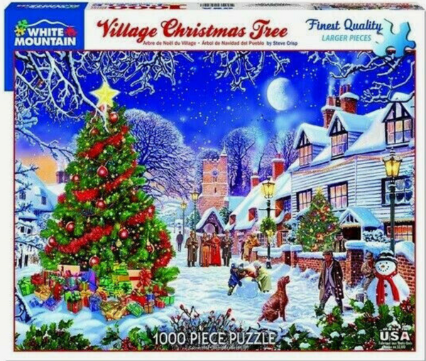 Village Christmas Tree Puzzle (1000 piece)