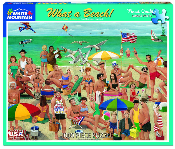 What A Beach! Jigsaw Puzzle (1000 piece)