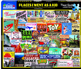 Places I Went As A Kid Jigsaw Puzzle (1000 piece)
