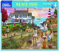 Beach Path Jigsaw Puzzle (1000 piece)