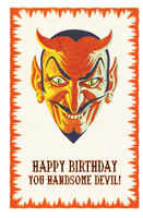 Handsome Devil - Birthday Card