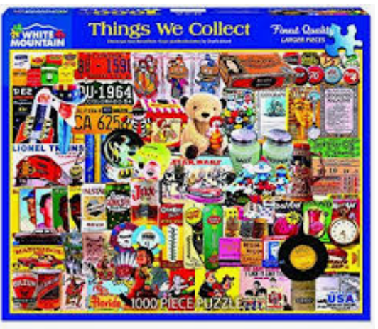 Things We Collect Jigsaw Puzzle (1000 pieces)