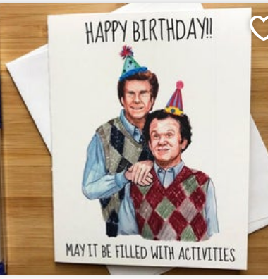 Step Brothers Birthday Card