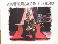 Scarface Birthday Card