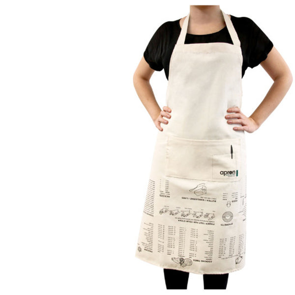 """Kitchen Guide"" Measurements Apron"