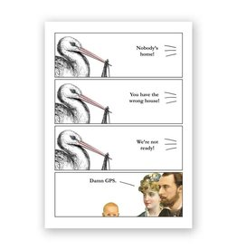Special Delivery GPS Baby Card