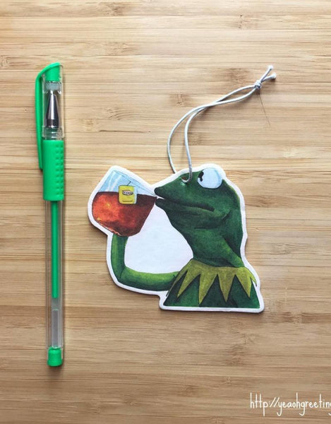 Kermit the Frog Air Freshener