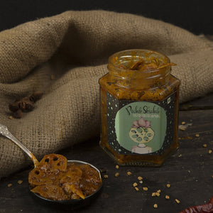 Pickle Shickle - K K K Kamal - Lotus Stem Pickle