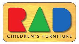 Logo for the Pikler Triangle shop, RAD Children's Furniture