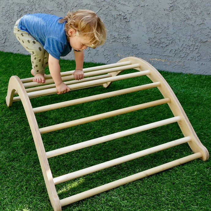 Climbing Arch - RAD Children's Furniture - pikler triangle - montessori toddler furniture - climbing triangle - nursery room