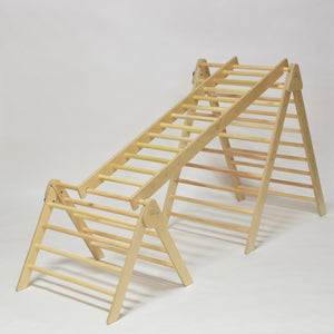 Hengstenberg Ladder - RAD Children's Furniture - pikler triangle - montessori toddler furniture - climbing triangle - nursery room