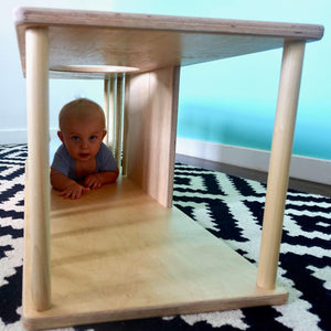 Labyrinth - RAD Children's Furniture - pikler triangle - montessori toddler furniture - climbing triangle - nursery room