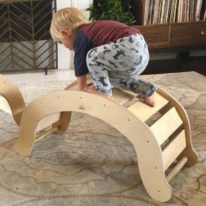 Rocker - RAD Children's Furniture - pikler triangle - montessori toddler furniture - climbing triangle - nursery room