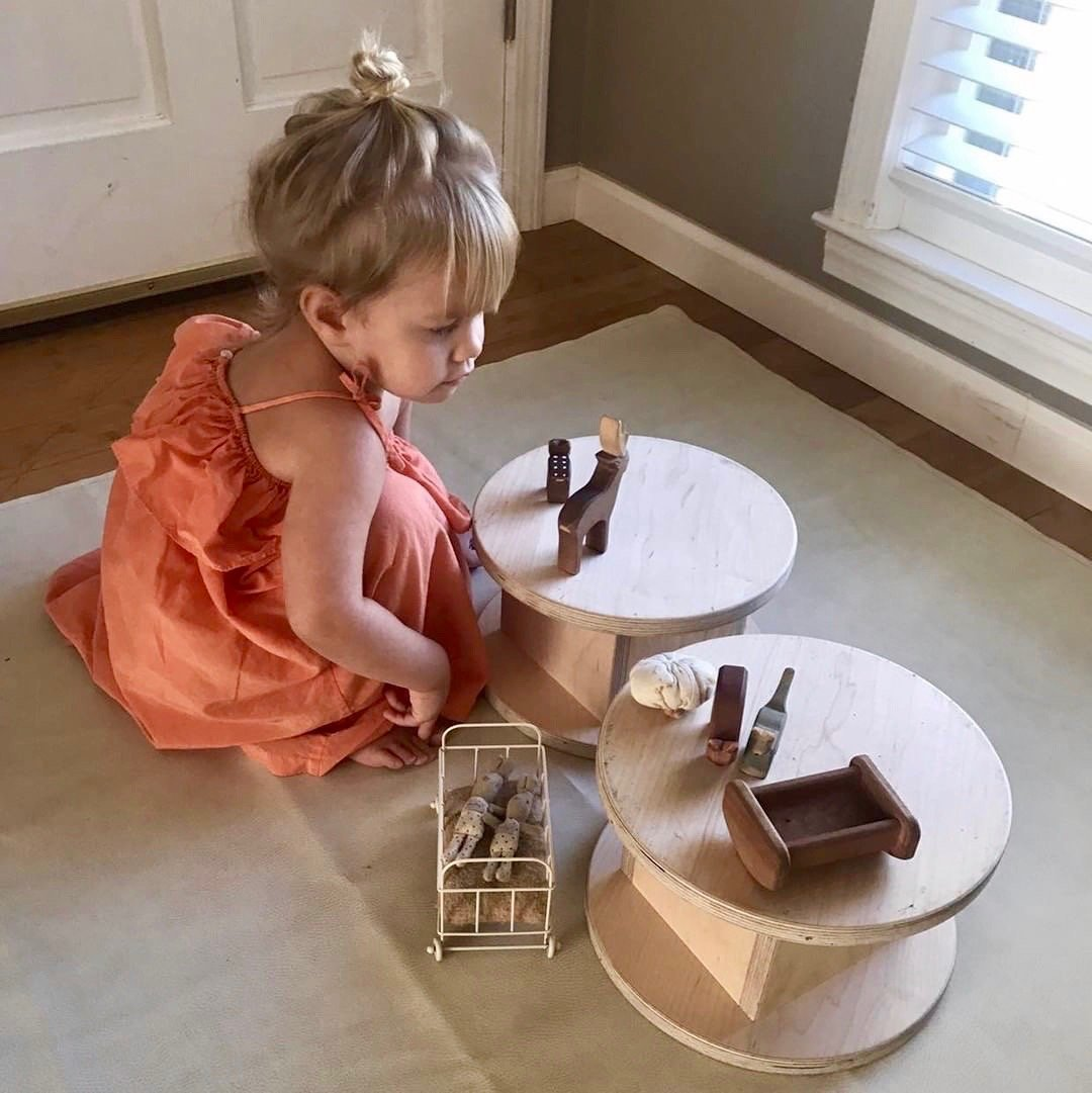 Stool - RAD Children's Furniture - pikler triangle - montessori toddler furniture - climbing triangle - nursery room