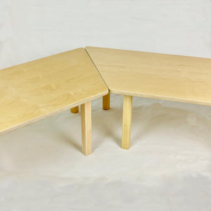 Trapezoid Table - RAD Children's Furniture - pikler triangle - montessori toddler furniture - climbing triangle - nursery room