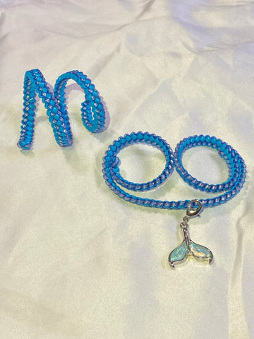 Mermaid choker set