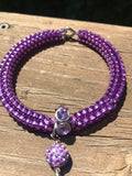 Purple passion bracelet