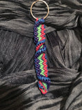 Twisty ladder keychain