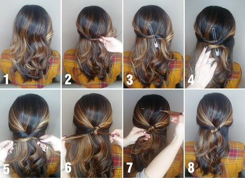 Half Up Twist Hairstyle