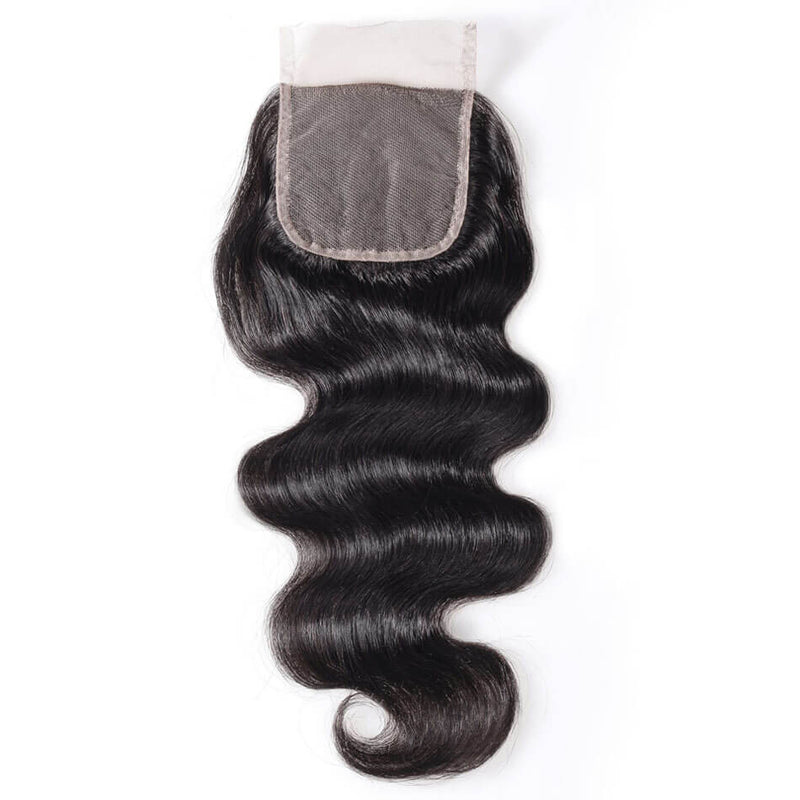 TRANSPARENT BODY WAVE LACE CLOSURE 5x5 - 12