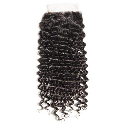 TRANSPARENT DEEP WAVE LACE CLOSURE 5x5 - 16