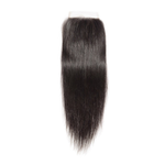 TRANSPARENT STRAIGHT LACE CLOSURE 5x5 - 12