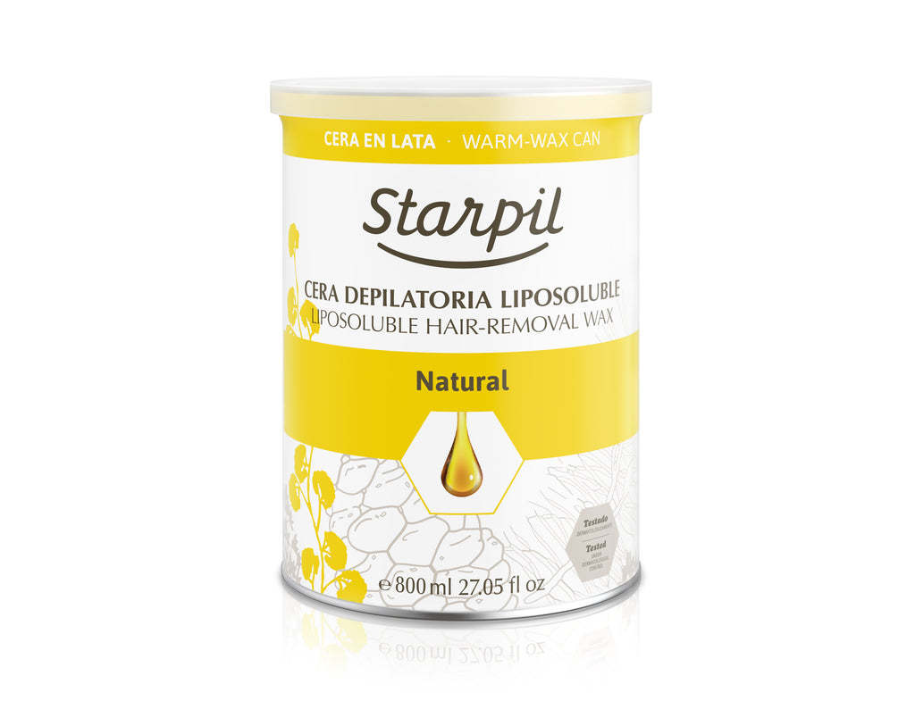 SOFT STRIP WAX NATURAL 800 ML