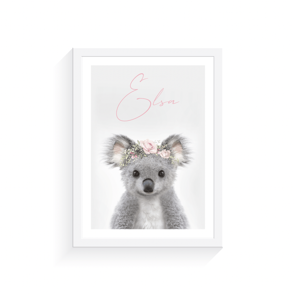 Personalised Koala - Jenna Davie Illustration
