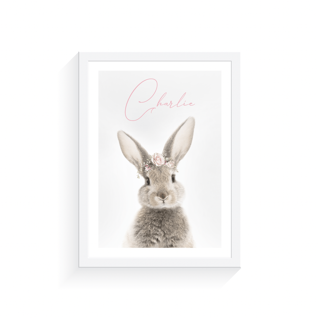 Personalised Bunny Rabbit - Jenna Davie Illustration